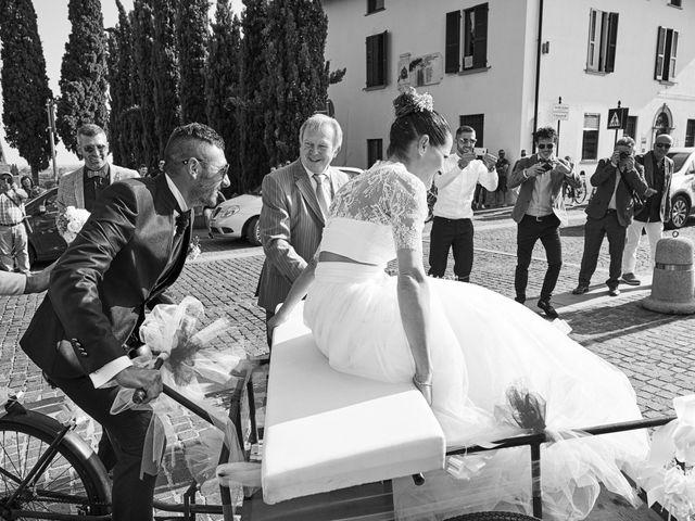 Il matrimonio di Alessandro e Barbara a Cazzago San Martino, Brescia 57