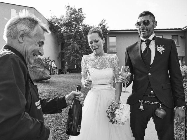 Il matrimonio di Alessandro e Barbara a Cazzago San Martino, Brescia 67