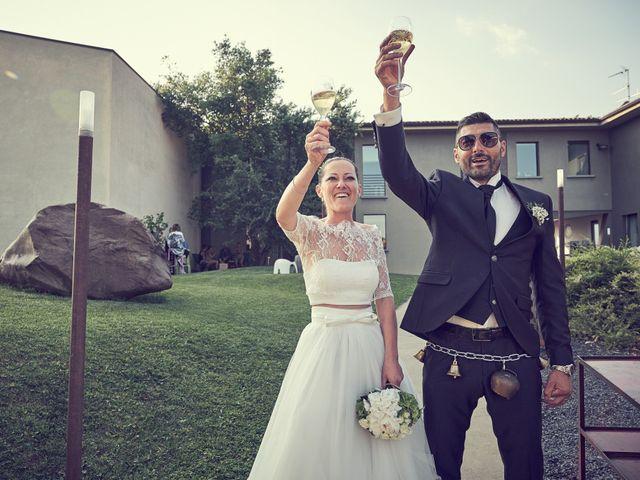 Il matrimonio di Alessandro e Barbara a Cazzago San Martino, Brescia 68