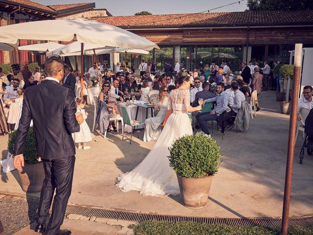 Il matrimonio di Alessandro e Barbara a Cazzago San Martino, Brescia 70