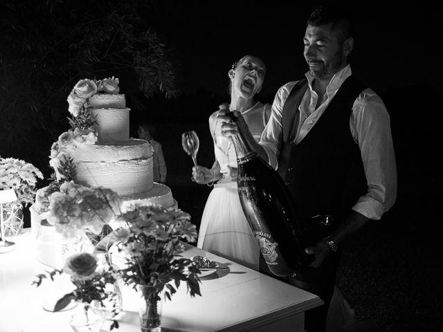 Il matrimonio di Alessandro e Barbara a Cazzago San Martino, Brescia 105