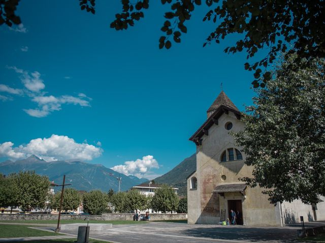 Il matrimonio di Davide e Isabella a Malnate, Varese 6
