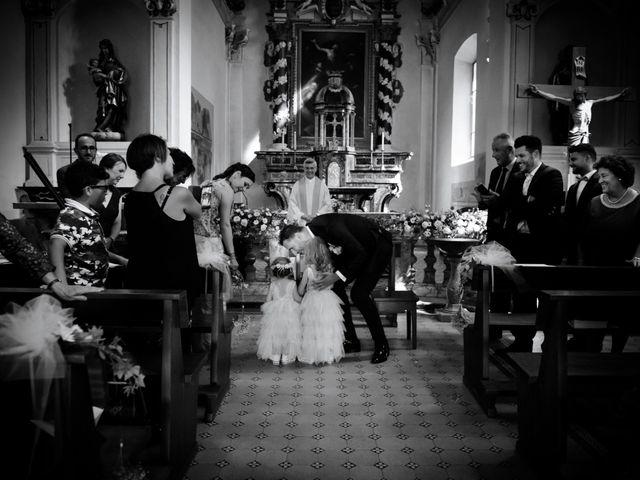 Il matrimonio di Davide e Isabella a Malnate, Varese 8
