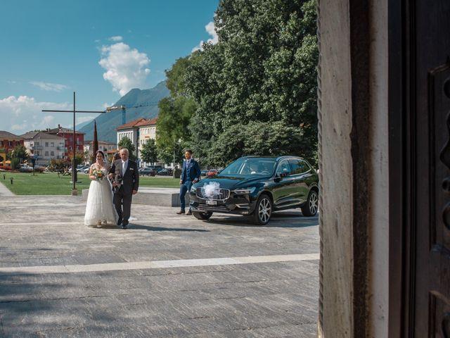 Il matrimonio di Davide e Isabella a Malnate, Varese 9