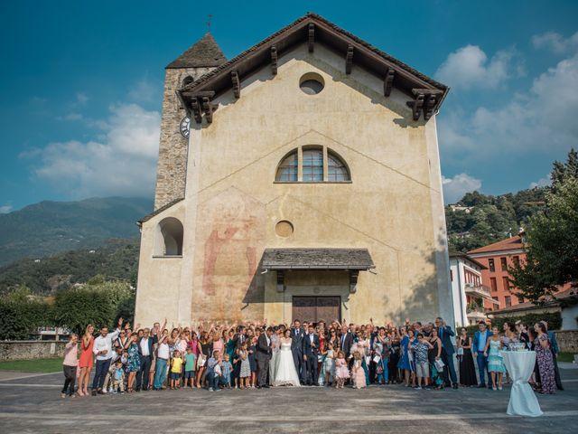 Il matrimonio di Davide e Isabella a Malnate, Varese 11