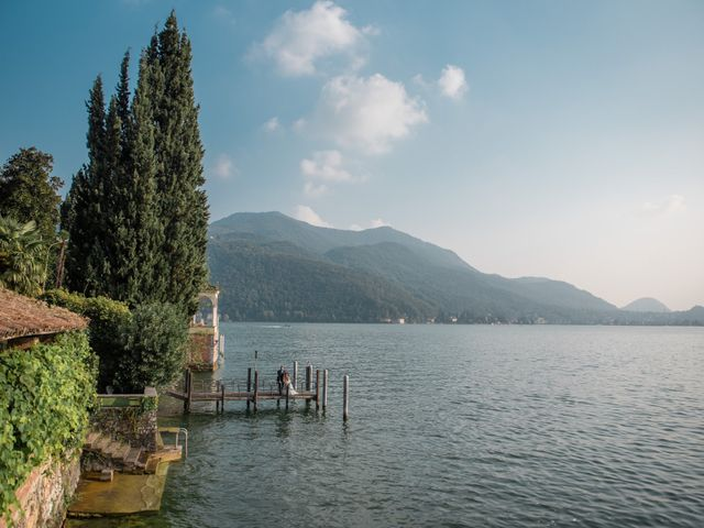 Il matrimonio di Davide e Isabella a Malnate, Varese 12