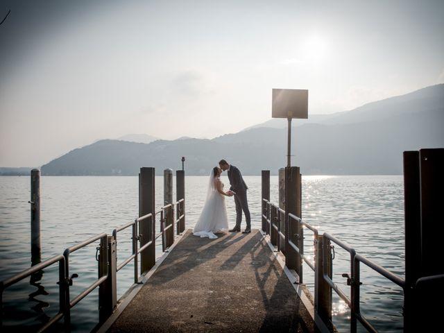 Il matrimonio di Davide e Isabella a Malnate, Varese 13