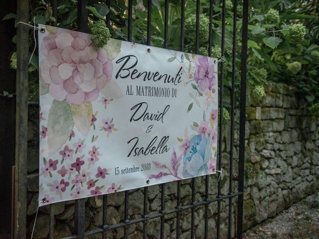 Il matrimonio di Davide e Isabella a Malnate, Varese 16