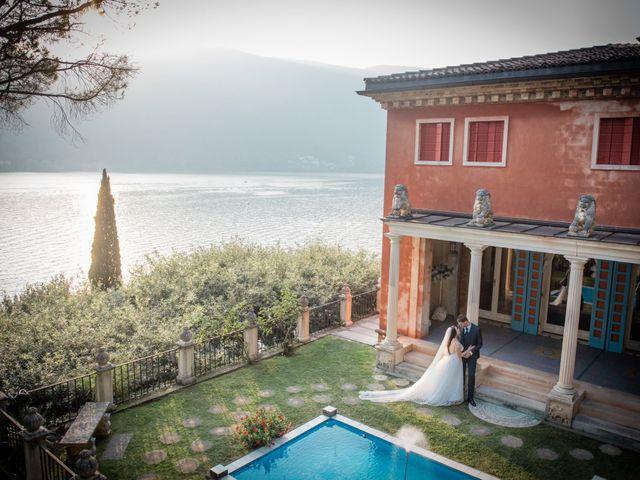 Il matrimonio di Davide e Isabella a Malnate, Varese 18