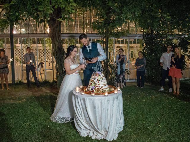 Il matrimonio di Davide e Isabella a Malnate, Varese 25
