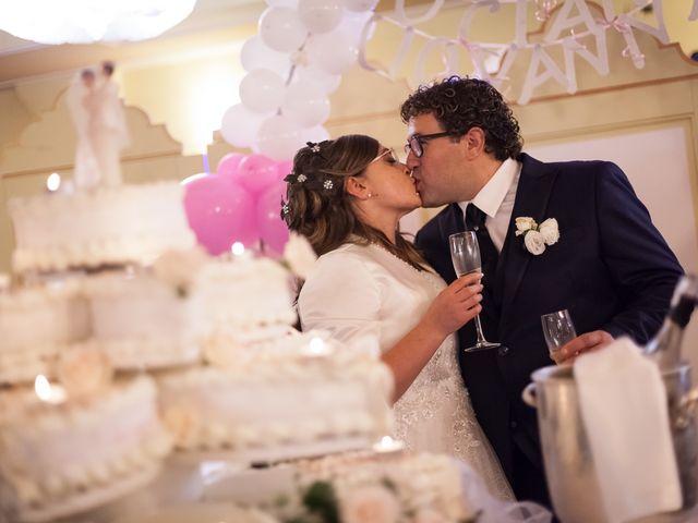 le nozze di Giovanna e Luciano