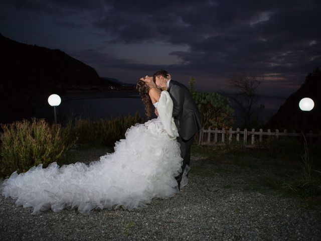 le nozze di Tonia e Andrea