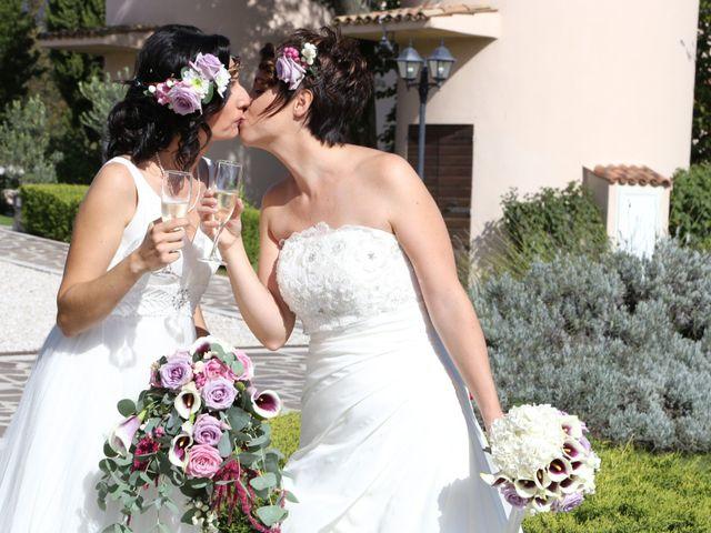 Le nozze di Valentina e Chiara
