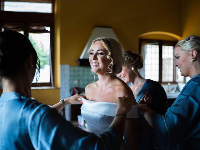 Il matrimonio di Carl e Lina a Barga, Lucca 16
