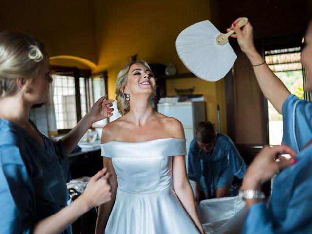 Il matrimonio di Carl e Lina a Barga, Lucca 18