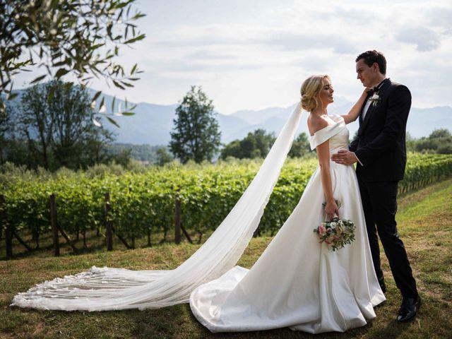 Il matrimonio di Carl e Lina a Barga, Lucca 1