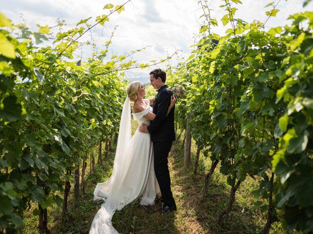Il matrimonio di Carl e Lina a Barga, Lucca 30