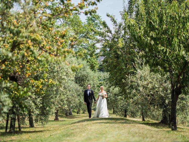 Il matrimonio di Carl e Lina a Barga, Lucca 45