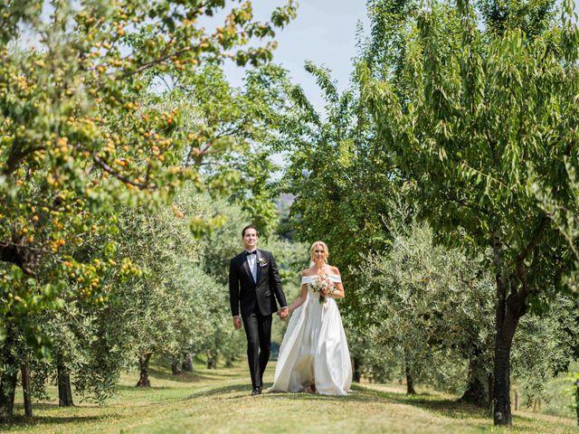 Il matrimonio di Carl e Lina a Barga, Lucca 46