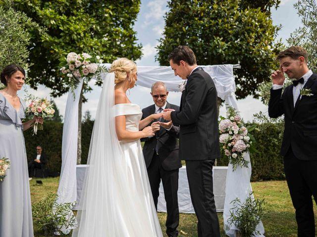 Il matrimonio di Carl e Lina a Barga, Lucca 65