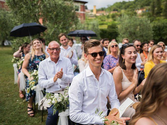 Il matrimonio di Carl e Lina a Barga, Lucca 66