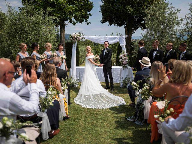 Il matrimonio di Carl e Lina a Barga, Lucca 69