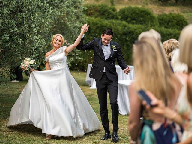 Il matrimonio di Carl e Lina a Barga, Lucca 73