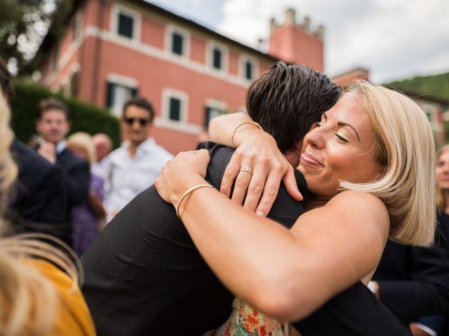 Il matrimonio di Carl e Lina a Barga, Lucca 81