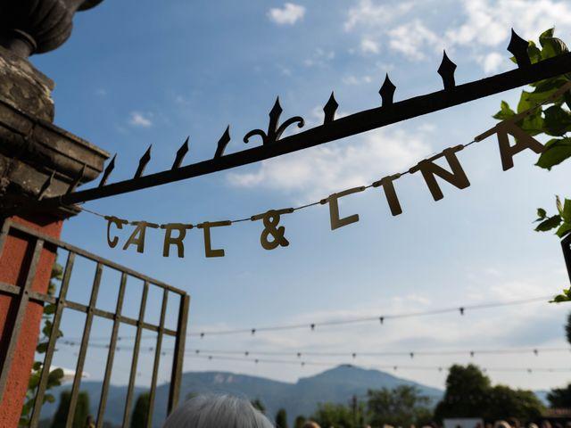 Il matrimonio di Carl e Lina a Barga, Lucca 84