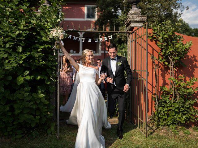 Il matrimonio di Carl e Lina a Barga, Lucca 85