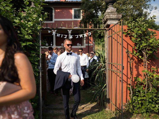 Il matrimonio di Carl e Lina a Barga, Lucca 86