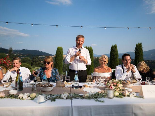 Il matrimonio di Carl e Lina a Barga, Lucca 91