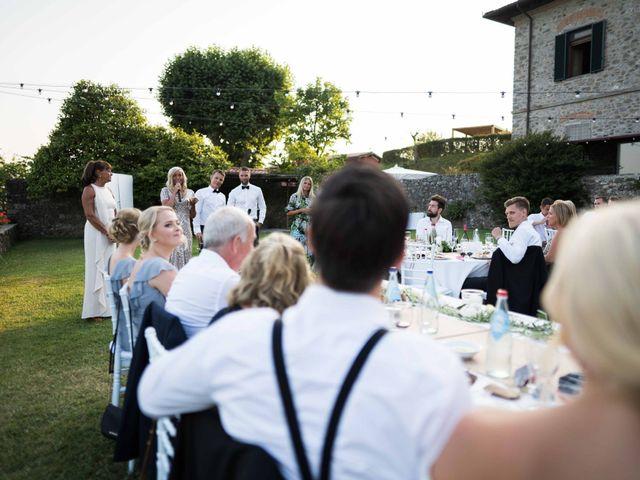 Il matrimonio di Carl e Lina a Barga, Lucca 101