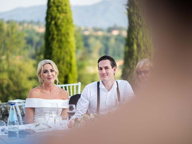Il matrimonio di Carl e Lina a Barga, Lucca 107