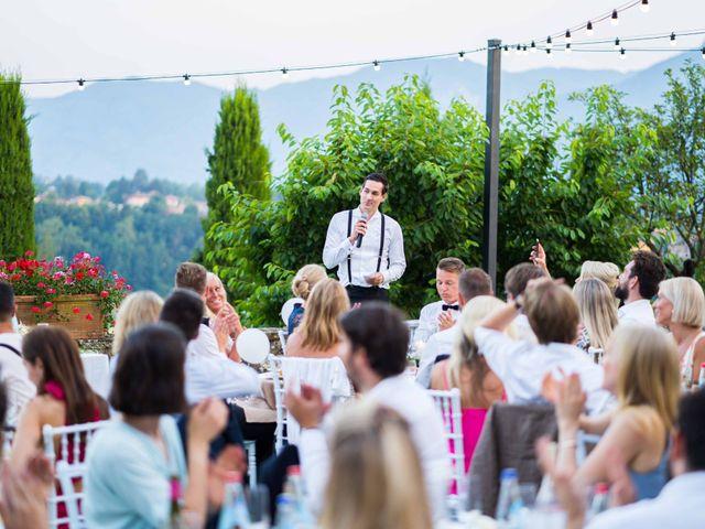 Il matrimonio di Carl e Lina a Barga, Lucca 111