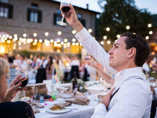 Il matrimonio di Carl e Lina a Barga, Lucca 117
