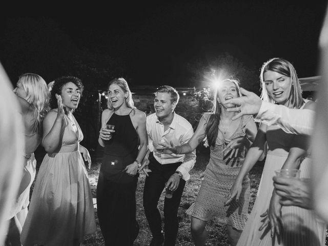Il matrimonio di Carl e Lina a Barga, Lucca 141