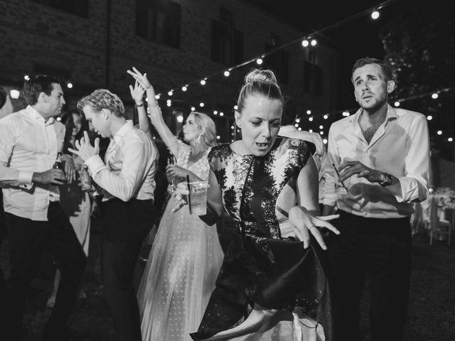 Il matrimonio di Carl e Lina a Barga, Lucca 143