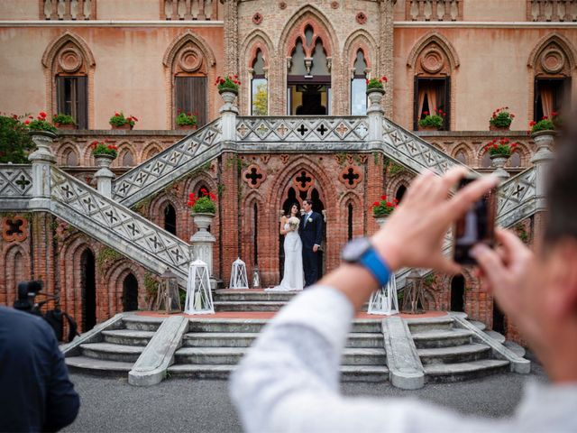 Il matrimonio di Juan Andre e Carlotta a Racconigi, Cuneo 93