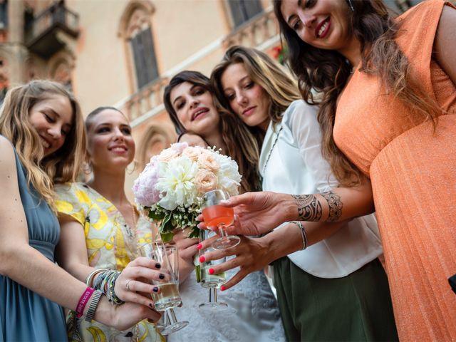 Il matrimonio di Juan Andre e Carlotta a Racconigi, Cuneo 97