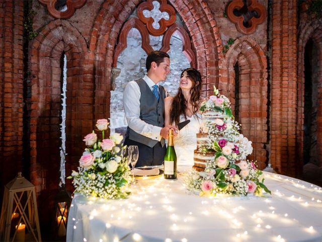 Il matrimonio di Juan Andre e Carlotta a Racconigi, Cuneo 109