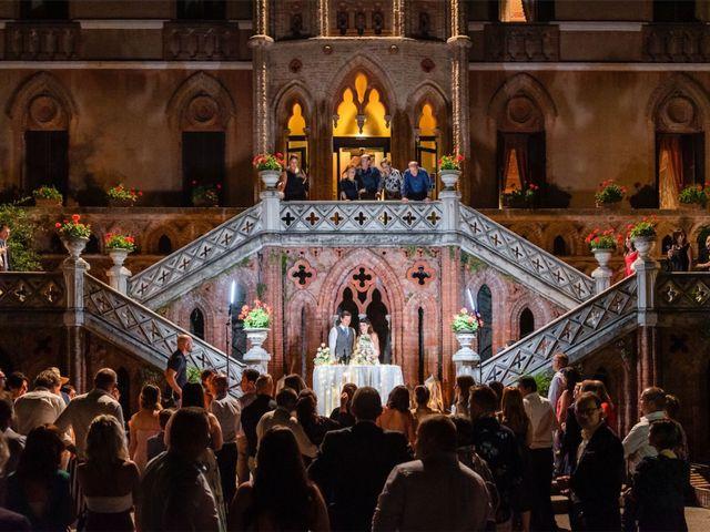 Il matrimonio di Juan Andre e Carlotta a Racconigi, Cuneo 111