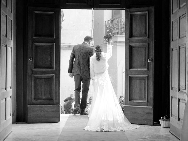 Il matrimonio di Tiziana e Giuseppe a Montescaglioso, Matera 11
