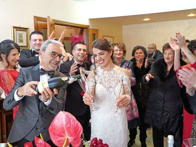 Il matrimonio di Tiziana e Giuseppe a Montescaglioso, Matera 19