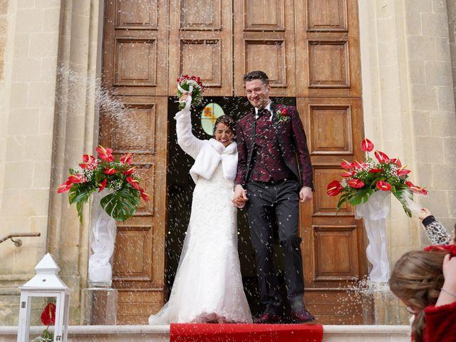 Il matrimonio di Tiziana e Giuseppe a Montescaglioso, Matera 25