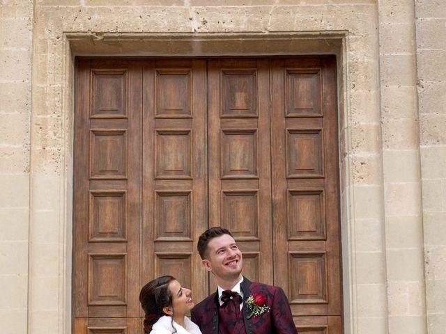 Il matrimonio di Tiziana e Giuseppe a Montescaglioso, Matera 26