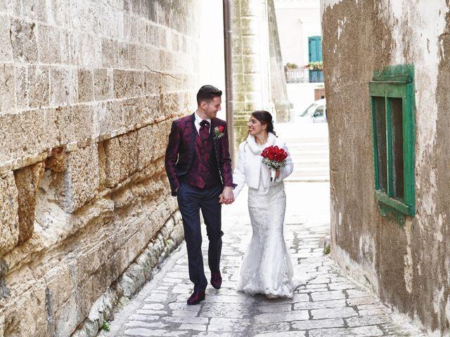 Il matrimonio di Tiziana e Giuseppe a Montescaglioso, Matera 27