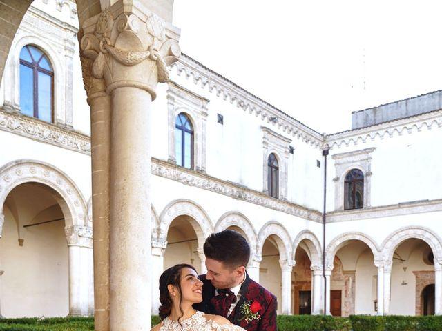 Il matrimonio di Tiziana e Giuseppe a Montescaglioso, Matera 33