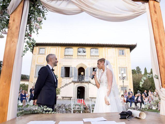 Il matrimonio di Giulia e Alessio a Pistoia, Pistoia 31