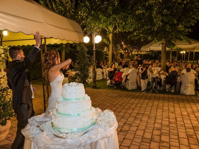 Il matrimonio di Alessandro e Francesca a Sulmona, L'Aquila 54
